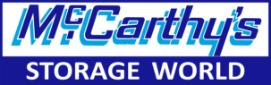 McCarthy Storage World Logo